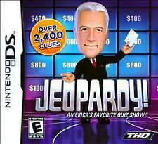 Jeopardy! America's Favorite Quiz Show (Nintendo DS) - BRAND NEW