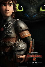 "017 How to Train Your Dragon 2 - 2014 Hot Movie Film 14""x21"" Poster"