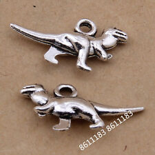 20pc Tibetan Silver Bracelet Dinosaur Animal Pendant Charms Beads WholesaleGP121