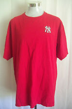 NY New York Yankees *RARE RED COLOR* Vintage LEE SPORT 90s T-Shirt Sz XL XLarge
