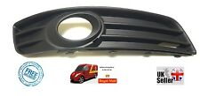 Front bumper fog light grille right driver side Audi A3 and Sportback 2008 2012