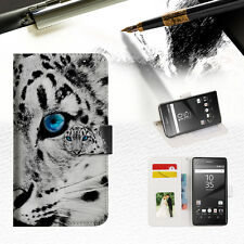 Leopard Wallet TPU Case Cover For Sony Xperia XZ-- A013