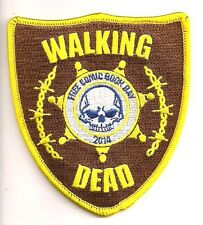 "4"" Walking Dead Free Comic Book Day 2014 Patch- FREE S&H (WDPA-KL01)"