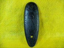 Vintage Black Bakelite Browning Automatic Buttplate