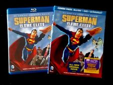 DC Universe Superman vs. The Elite (2-Disc Blu-ray/DVD) with OOP Slipcover!
