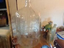5 Gallon Glass Ribbed Bottle Mountain Valley Spring Water