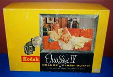 VINTAGE KODAK DUAFLEX IV DELUXE FLASH OUTFIT KIT WITH ORIGINAL BOX ~138