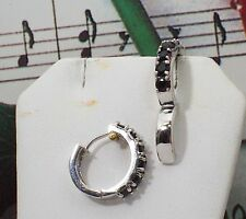 Beautiful Natural Sapphire With 925 Sterling Silver Earrings. SSER001