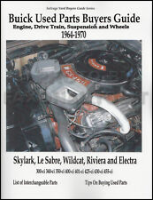 1964-1970 Buick Parts ID Interchange Casting Numbers Guide Engine Suspension etc