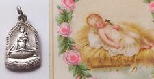 Beautiful Vintage French 1930's Medal Of Our Lady