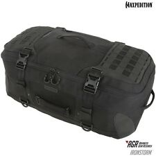 Maxpedition MXRSMBLK IRONSTORM Adventure Travel Bag, Black