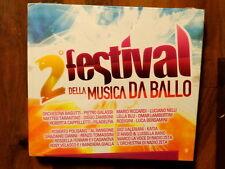 2° FESTIVAL DELLA MUSICA DA BALLO  -  2 CD 2010  DIGIPACK  NUOVO E SIGILLATO