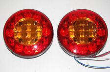 12V 24V Anhänger LKW LED Anhängerbeleuchtung 3 Funktionen Rücklicht Rundlicht