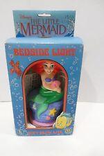Vintage 1990 Walt Disney Little Mermaid Ariel Bedside Light  Lamp New in box