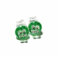 Fits Nissan Cube Z12 Green 4-LED Xenon Bright Side Light Beam Bulbs Pair Upgrade