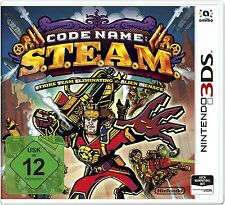 Code Name: S.T.E.A.M. / STEAM Nintendo 3DS & 2DS Neu & OVP | DE,EN,FR,ES,IT