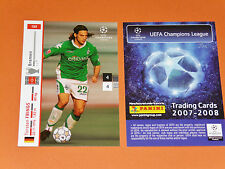 TORSTEN FRINGS WERDER BREMEN FOOTBALL CARDS PANINI CHAMPIONS LEAGUE 2007-2008