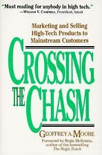 Crossing the Chasm, Moore, Moore, Geoffrey A., Acceptable Book