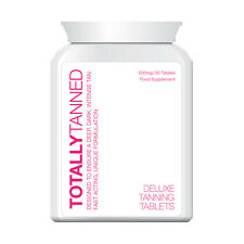 TOTALLY TANNED TABLETS GET TAN FAST INSTANT RESULTS SAFE HERBAL!