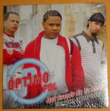 Optimo FDL : Que Grande Es Tu Amor -  Promo CD  2007 - Sony BMG  - SEALED. Mint.