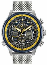 Citizen Eco-Drive JY8031-56L Men's Blue Angel Navihawk AT Chrono World Watch