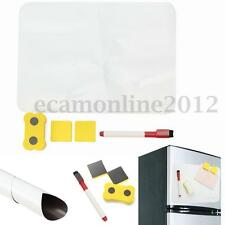 A4 Frigo Magnétique Aimant Tableau Blanc Magnet Mémo Feuille+Gomme+Stylo+Sticker