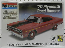 1970 PLYMOUTH ROAD RUNNER 440-6 GTX AIR GRABBER MOPAR 70 MONOGRAM MODEL KIT