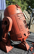 Star wars R2d2 Life Size Prop ready for assembly and painting.