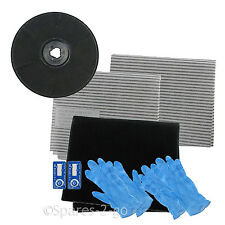 EFF57 Type Carbon Charcoal Filter Kit for ZANUSSI Cooker Hood Vent Extractor