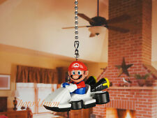 SUPER MARIO Bros BROTHERS RACING Ceiling Fan Pull Light Lamp Chain Decoration A