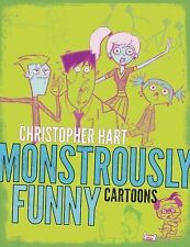Monstrously Funny Cartoons by Christopher Hart (2014, Paperback)