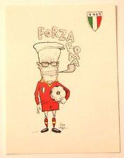 Cartolina Ill. Pino Zac Roma Campione D'Italia 1983 - Sandro Pertini