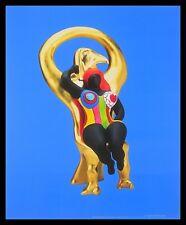 Niki de saint phalle Horus et sa Grace póster imagen son impresiones artísticas y marco 58x48cm