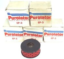 LOT OF 5 NIB PURLOATOR INC. EP-3 FILTERS EP3