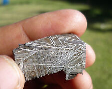NICELY ETCHED 21.1 gram MUONIONALUSTA METEORITE - GREAT FOR JEWELRY!