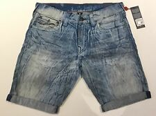 TRUE RELIGION MEN RICKY WITH FLAP SHORT CVGM DAY SHIFTER MC087VO0 NWT 30W $229