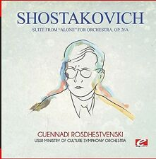 Shostakovich - Suite from Alone for Orchestra Op. 26A [New CD] Manufactured On D