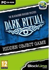 DARK RITUAL THE BLACKWOOD MANSION MYSTERY Hidden Object PC Game NEW