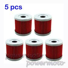 5PCS Oil Filter For SUZUKI DRZ400E DRZ400 DRZ400S DRZ400SM SM QUADSPORT LTR450