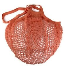 ECOBAGS® Market Collection Classic String Market Bags Long Handle~Coral Rose