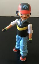 Pokemon Jakks Pacific Ash Ketchum Trainer Diamond & Pearl Action Figure 2007