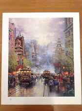 "Thomas Kinkade ""San Francisco"" 28x24"" Sample Print"