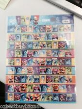 Disney Pixar INSIDE OUT A4 size of  Mini Stickers  QTY  1x Sheet
