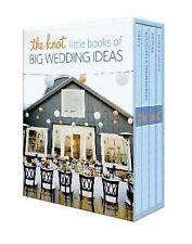 The Knot Little Books of Big Wedding Ideas: Cakes; Bouquets & Centerpieces; Vows