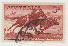 (W1497) 1961 AU 5/- NT cattle industry (A)