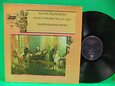 The Young Mozart Piano Concerti Nos 1, 2, 3, & 4 Gunter Wich NM+ Vox TV 34260