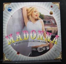 """Madonna - What It Feels Like For A Girl 2 12"""" VG+ 9 42372-0 Vinyl Record"""