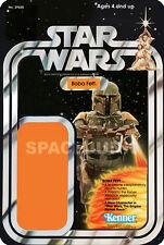 STAR WARS Boba Fett (1977) Reproduction Kenner Cardback