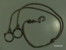 TRAINING FORK MARTINGALE POLY ROPE WESTERN HORSE AID BRIDLES AW LEATHER GOODS