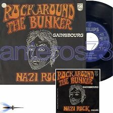 "SERGE GAINSBOURG ""ROCK AROUND THE BUNK"" RARE 45T ITALIE"
